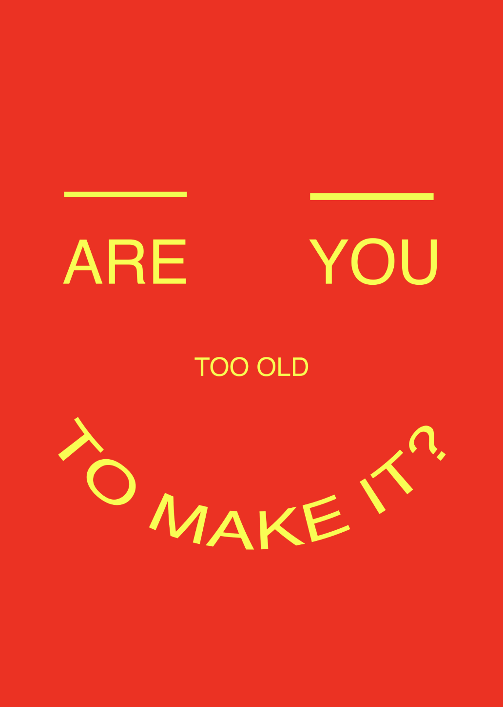 are you too old to make it in fashion?