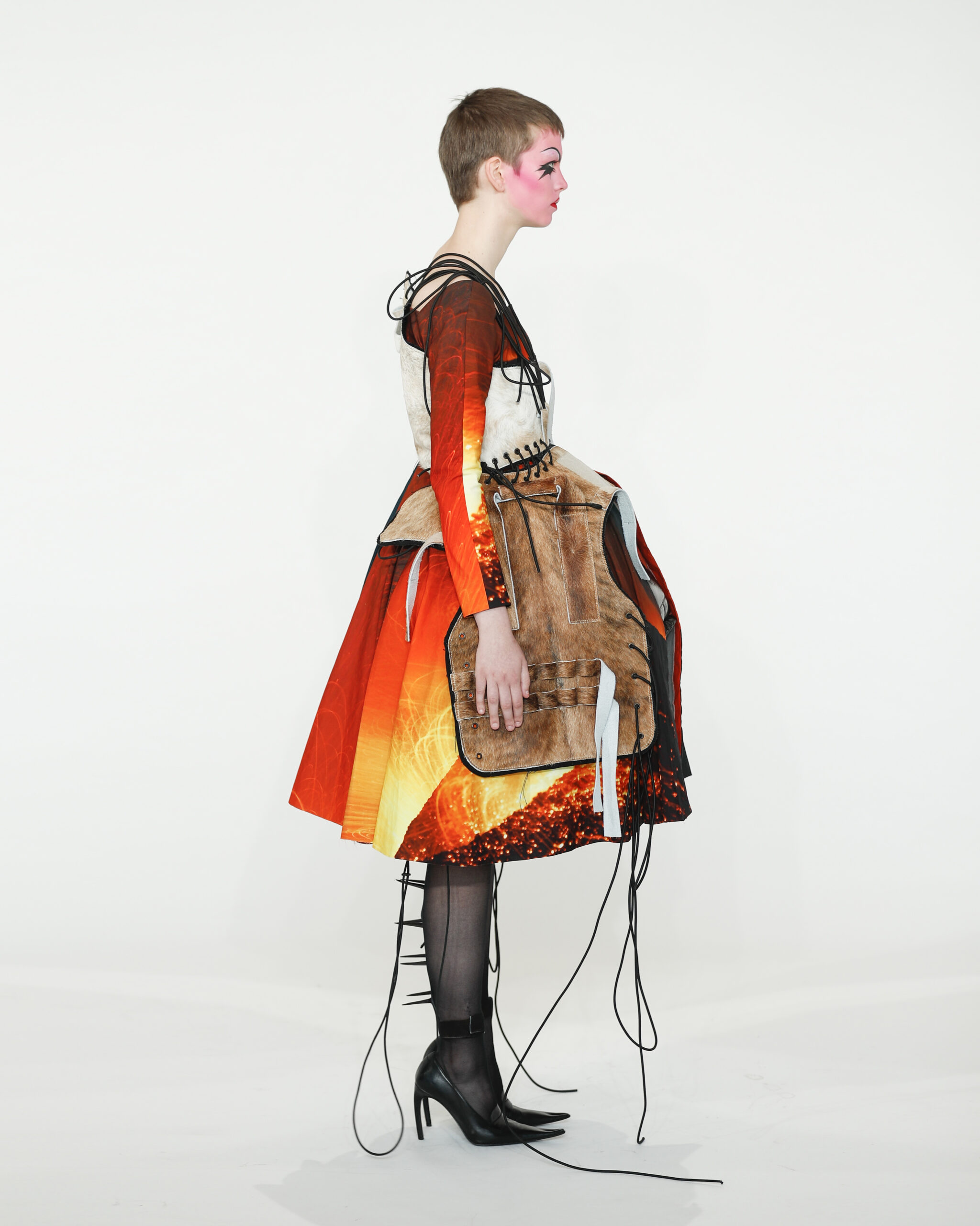 Sci-fi meets 50s French couture in Benji Nijenhuis' collection of dystopian fantasies