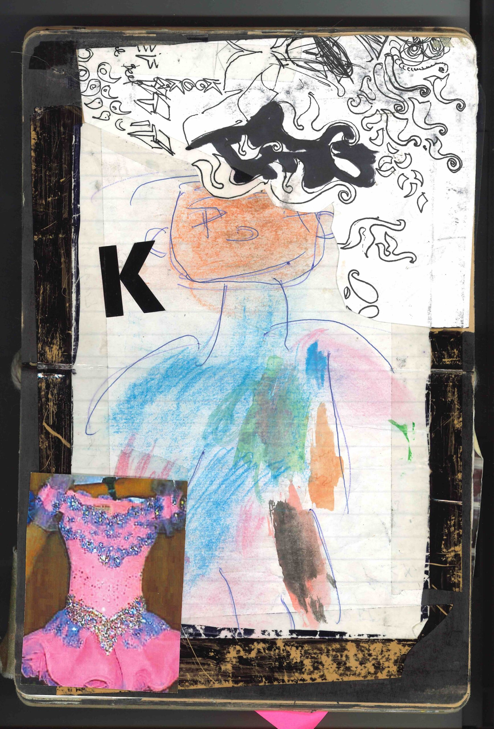An exclusive look through Christopher Kane's first sketchbooks