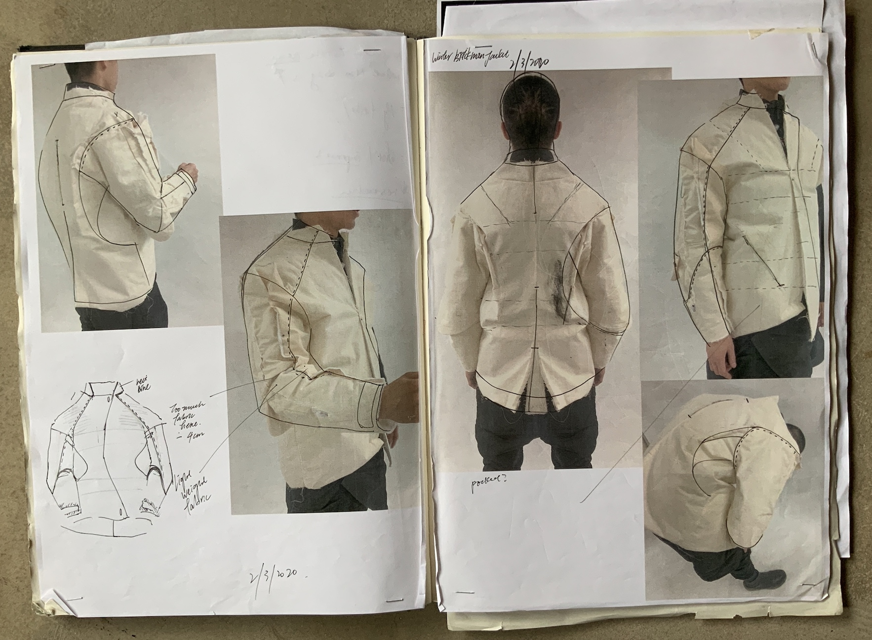 Mei Sze Tsang designs workwear for bricklayers