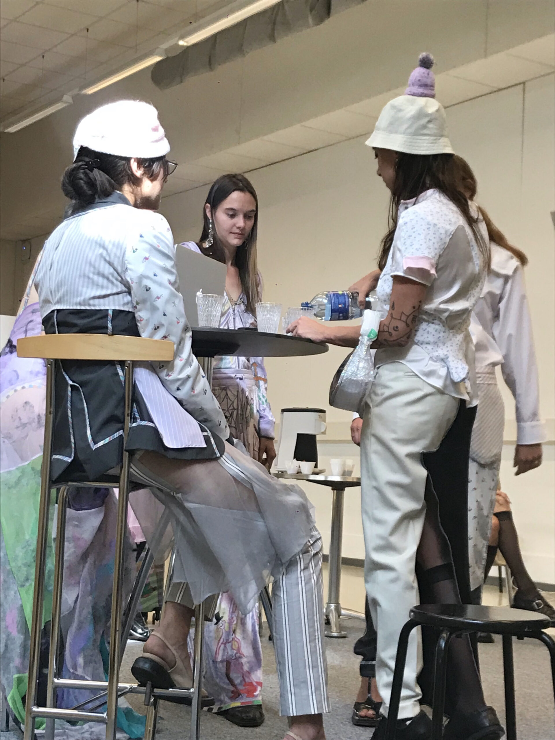 """""""I deconstruct clothes to highlight the idea of unfixed identity"""" – Swiss designer Virginie Jemmely on shifting sartorial codes"""