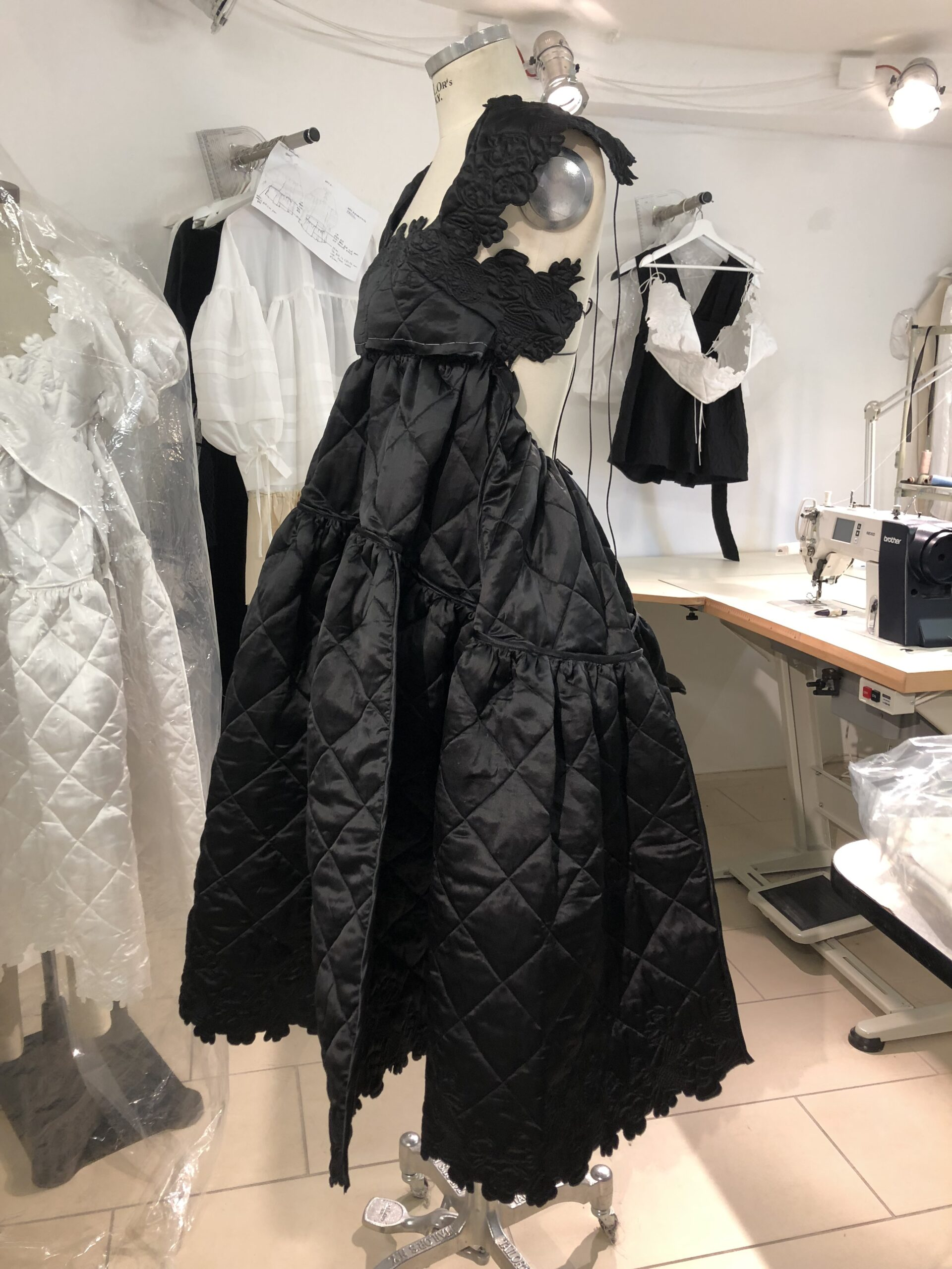A look through Cecilie Bahnsen's studio before finalising a collection, as seen in 1 Granary issue 6